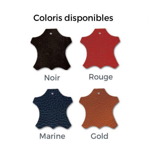 couleurs de cuirs maroquinerie