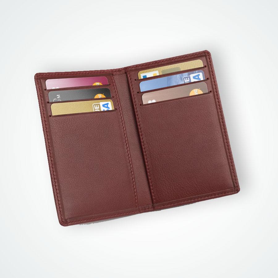 etui 6 cartes en cuir bancaire et fid 233 lit 233 maroquinerie valueserve
