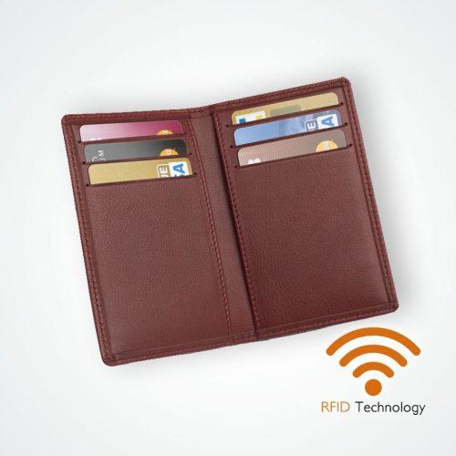 Étui protection Stop RFID anti NFC 6 cartes Maroquinerie ValueServe