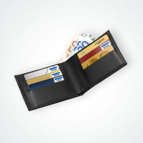 Portefeuille cuir 6 cartes