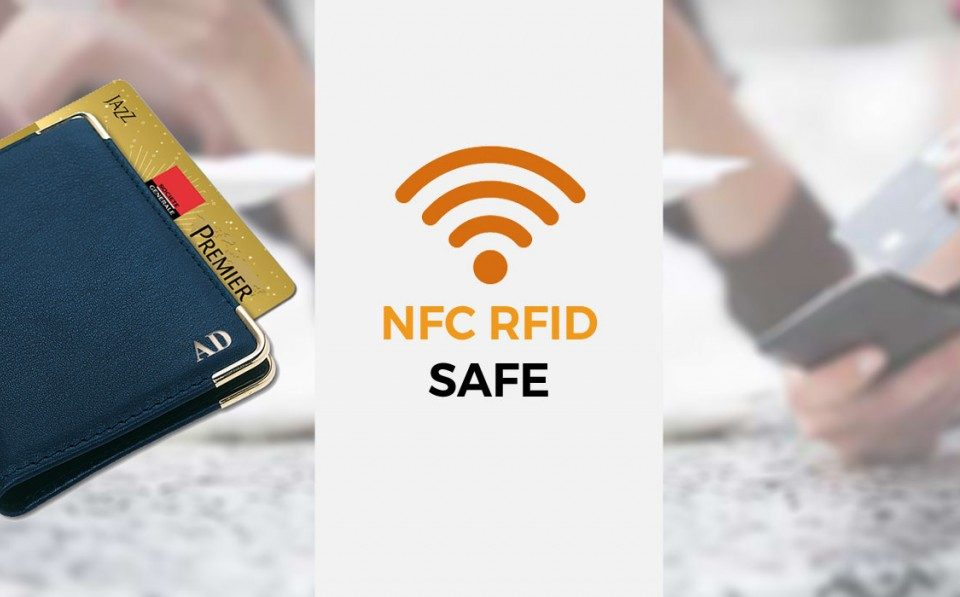 Maroquinerie Stop RFID NFC