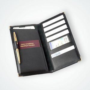 Cuir Porte Cartes Passeport