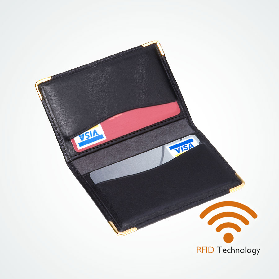 Porte carte bancaire protection Stop RFID anti NFC